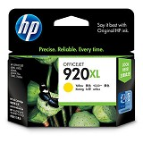 HP Yellow Ink Cartridge 920XL [CD974AA] - Tinta Printer HP